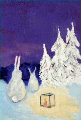"EST514 - ""LATERNAVALGUSES"" Autor: Lissu Lundström 11,5 x 17 cm"
