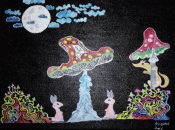 Грибные зайцы