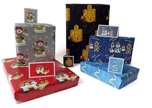 Упаковочная бумага для рождественских подарков
