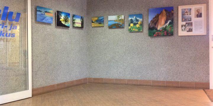 Meelis Luksi näitus Uulu Kultuuri- ja Spordikeskuses